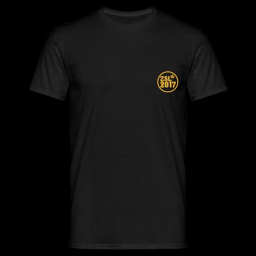 2017 Shirt Black - Männer T-Shirt