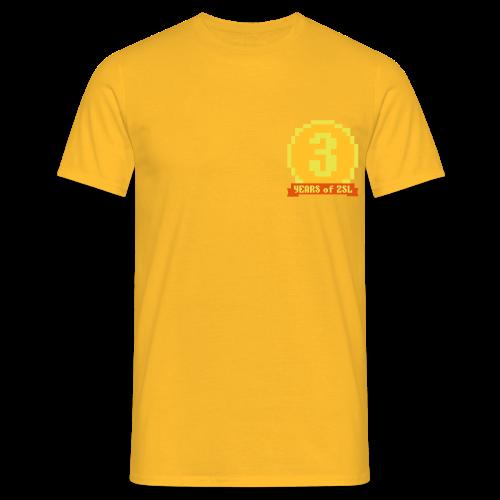 2017 3Y Shirt Yellow - Männer T-Shirt
