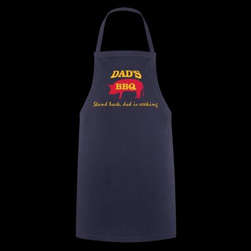 Dad's BBQ (motif vectoriel) - Tablier de cuisine