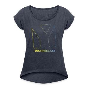 SUMMERGIRL 17 - Frauen T-Shirt mit gerollten Ärmeln
