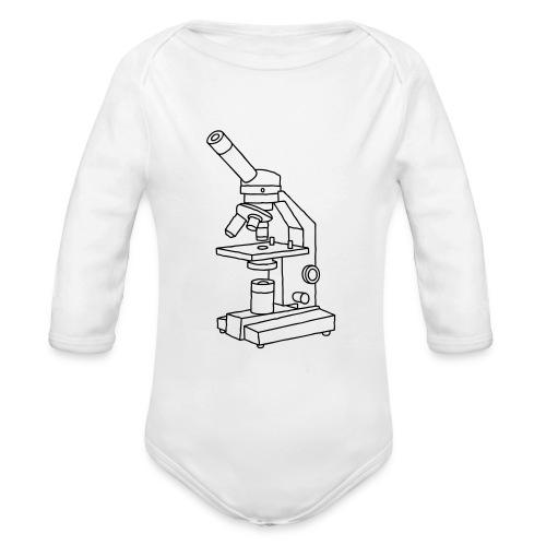 MIKROSKOP - Baby Bio-Langarm-Body