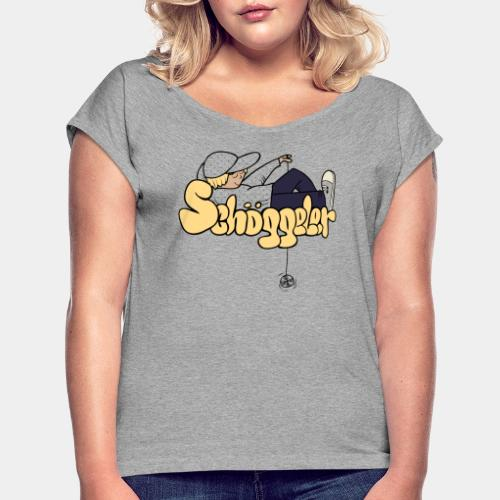 Schöggeler Girly - Women's T-Shirt with rolled up sleeves