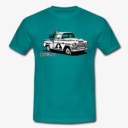 Turquoise Ol' Pickup Tee - Men's T-Shirt
