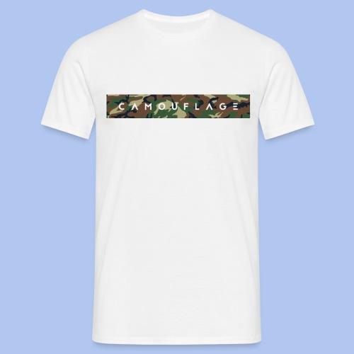 Camouflage style shirt - Männer T-Shirt