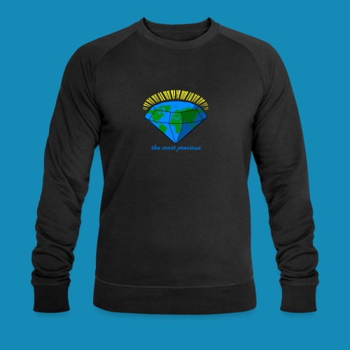 Sweatshirt diamond world - Männer Bio-Sweatshirt von Stanley & Stella
