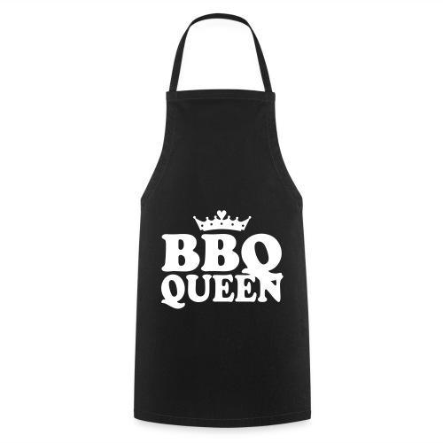Cooking Woman Keukenschort: BBQ-Queen Zwart - Keukenschort