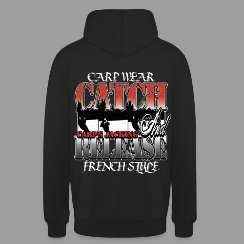 Catch and release  Carp's Jacking sweat  - Sweat-shirt à capuche unisexe