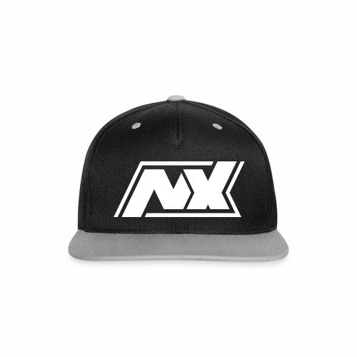 Nx Snapback Cap grau - Kontrast Snapback Cap