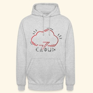 Under Cloud - Sweat-shirt à capuche unisexe