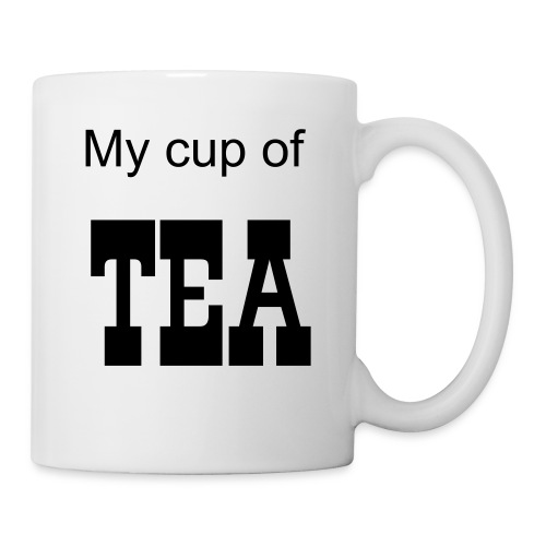 My cup of tea - Mugg