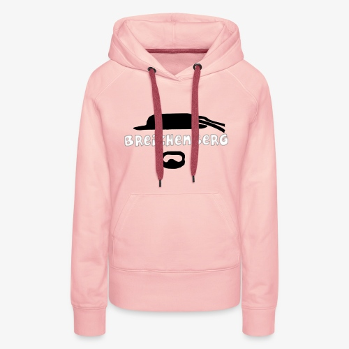 sweet shirt breizhenberg - Sweat-shirt à capuche Premium pour femmes