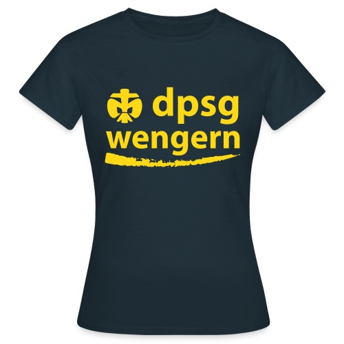 DPSG Wengern Frauen T-Shirt, talliert - Frauen T-Shirt