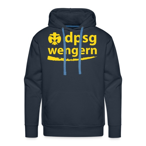 DPSG Wengern Männer Hoodie - Männer Premium Hoodie