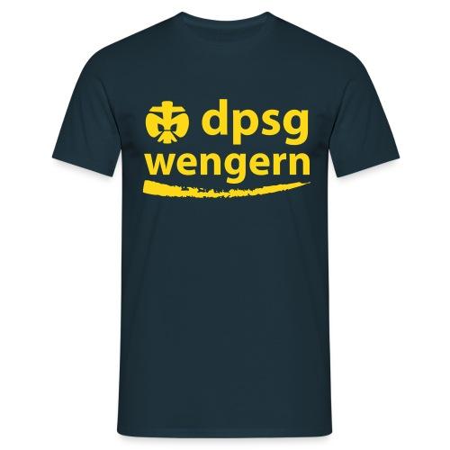 DPSG Wengern Männer T-Shirt, untalliert - Männer T-Shirt