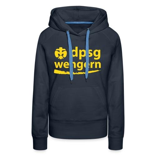 DPSG Wengern Frauen Hoodie, talliert - Frauen Premium Hoodie