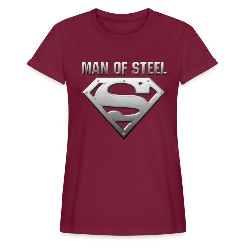 Superman Man of Steel  - Frauen Oversize T-Shirt