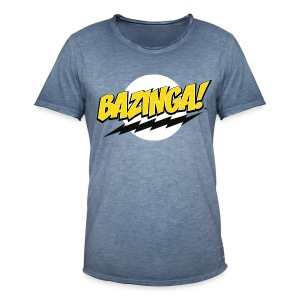 The Big Bang Theory Bazinga! - Männer Vintage T-Shirt