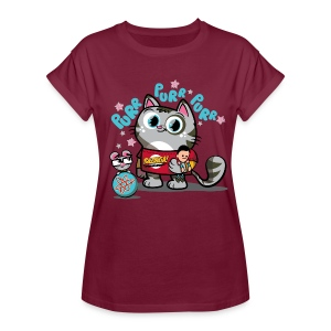 Big Bang Theory Soft Kitty - Frauen Oversize T-Shirt