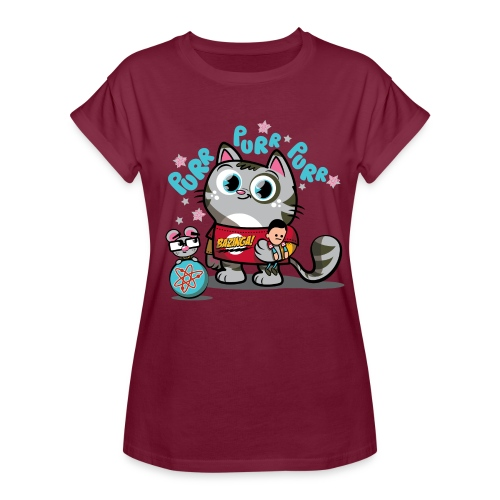Big Bang Theory Soft Kitty - Frauen Oversize T-Shirt
