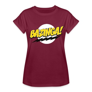 The Big Bang Theory Bazinga! - Frauen Oversize T-Shirt