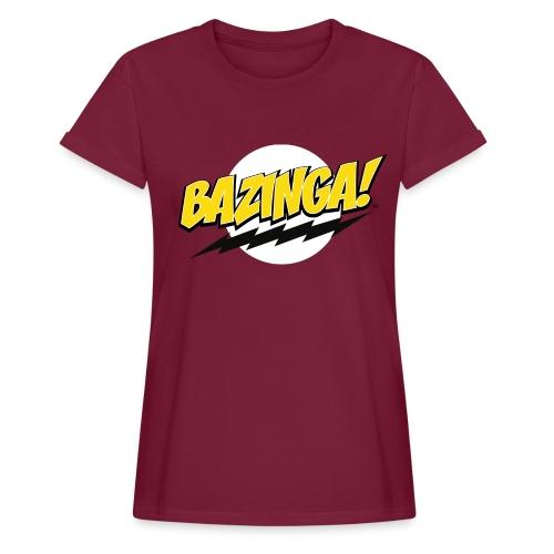 The Big Bang Theory Bazinga! - Frauen Oversize T-Shirt