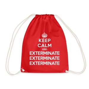 Keep calm and exterminate - sacca Doctor Who - Drawstring Bag