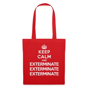 Keep calm and exterminate - borsa Doctor Who - Tote Bag
