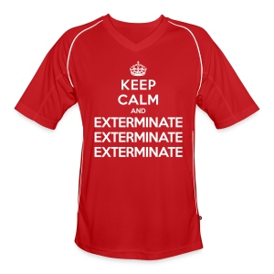 Keep calm and exterminate - maglietta da calcio Doctor Who - Men's Football Jersey