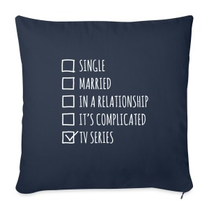 TV series lover - copricuscino geek - Sofa pillow cover 44 x 44 cm