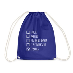 TV series lover - sacca geek - Drawstring Bag