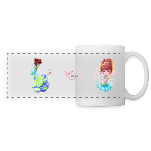Hana & Yume - Mug panoramique contrasté et blanc