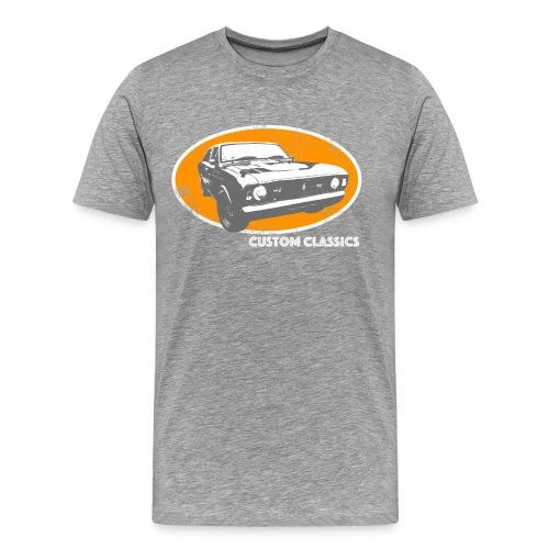 Limited Edition Skull & Pistons Custom Classics T-Shirt - Men's Premium T-Shirt