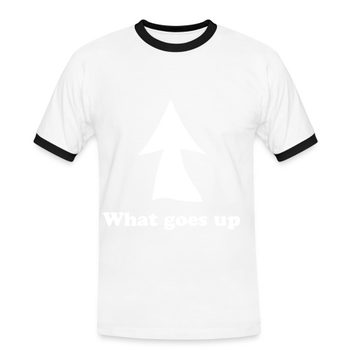 What goes up - Mannen contrastshirt