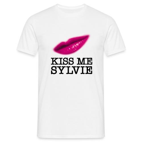 T-shirt Classique Homme Kiss Me Sylvie - T-shirt Homme