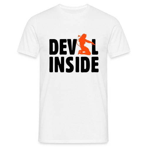 Devil inside - T-shirt Homme