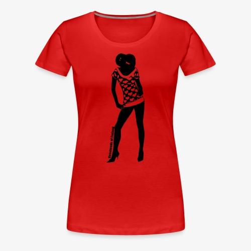 Bassopää naisten t-paita - Naisten premium t-paita
