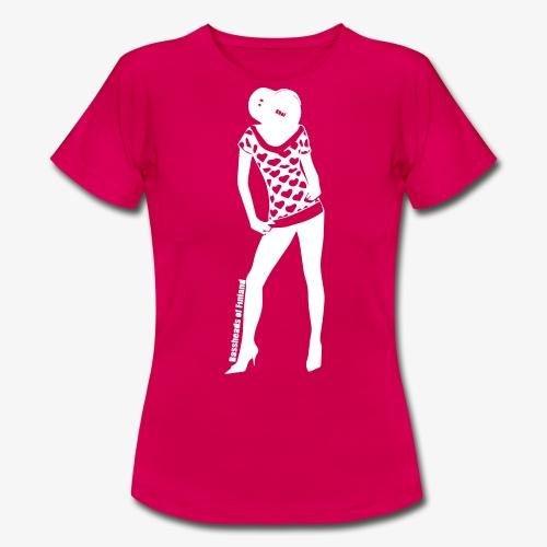 Bassopää naisten t-paita - Naisten t-paita