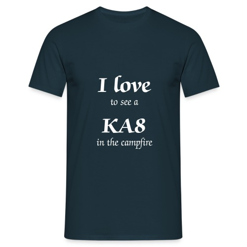 I love KA8 T-shirt - Mannen T-shirt