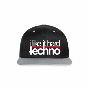 i like it hard - Cap - Kontrast Snapback Cap