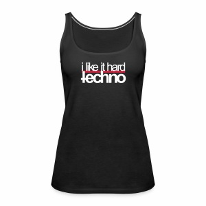 i like it hard - Tanktop - Frauen Premium Tank Top