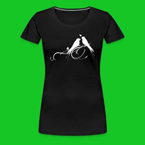 Love birds dames t-shirt - Vrouwen Premium T-shirt