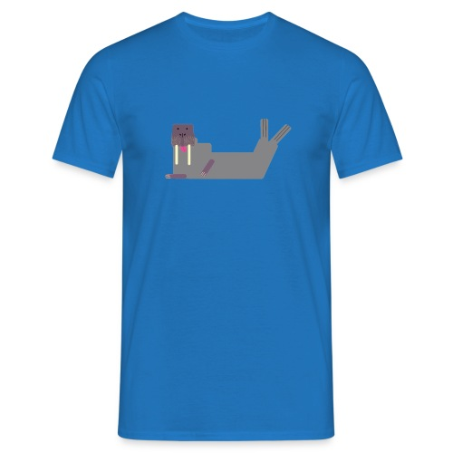 Das Walross Erwin (ohne Hintergrund) - Männer T-Shirt