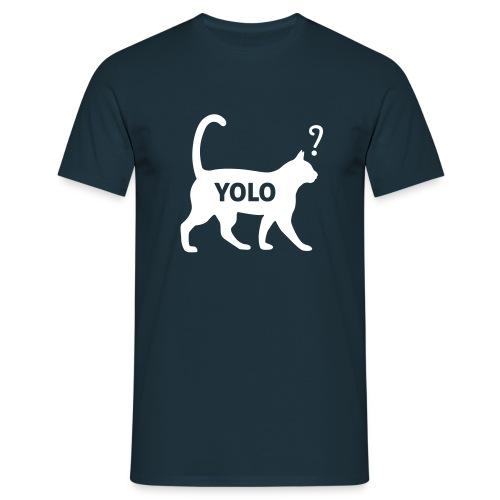 Yolo tshirt - Mannen T-shirt