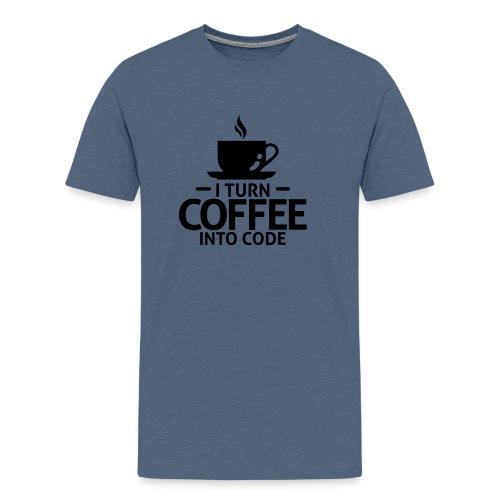 Coder tshirt - Mannen Premium T-shirt