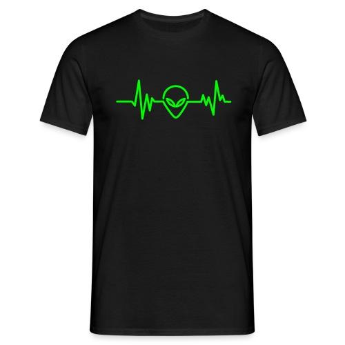 Alien tshirt - Mannen T-shirt