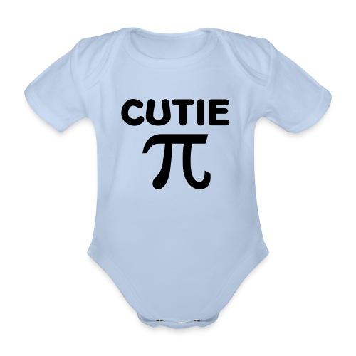 schattig baby rompert - Baby bio-rompertje met korte mouwen