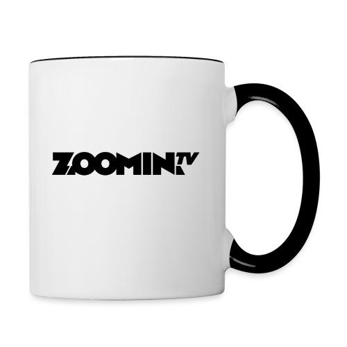 Contrasting Mug : white/black - Contrasting Mug