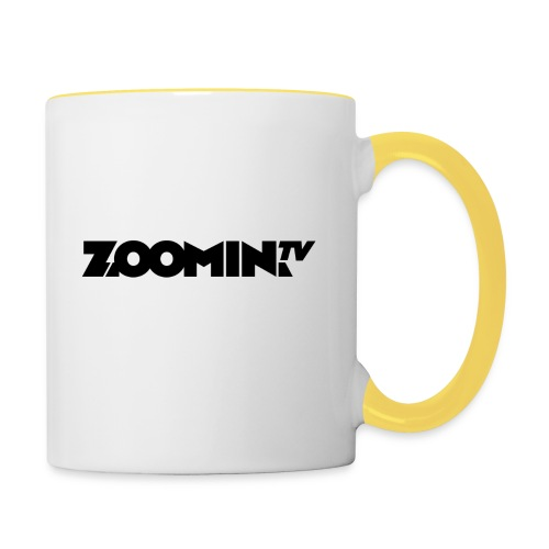 Contrasting Mug : white/yellow - Contrasting Mug