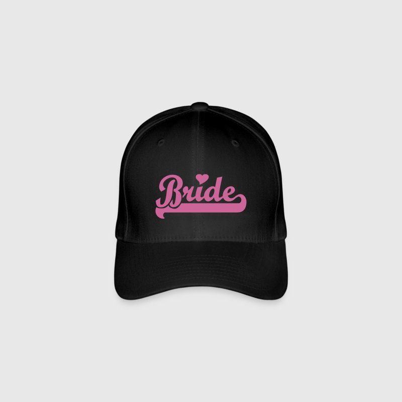 Black Bride Caps & Hats - Flexfit Baseball Cap