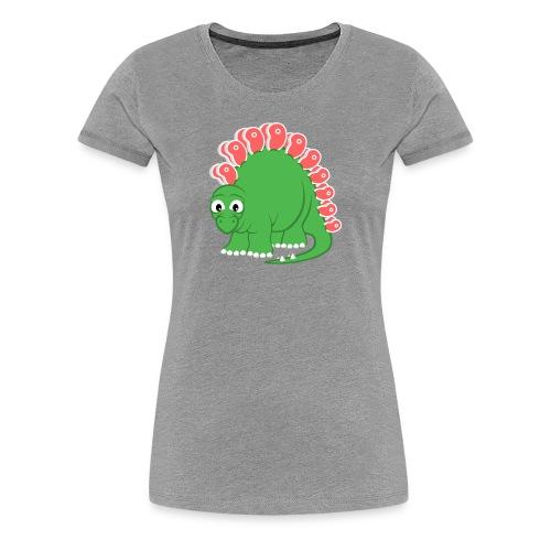 Steakosaurus (T-Shirt Frauen) - Frauen Premium T-Shirt